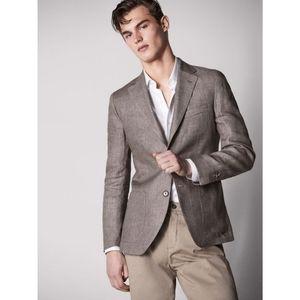 🆕 MASSIMO DUTTI  Men's  Style Blazer MADE